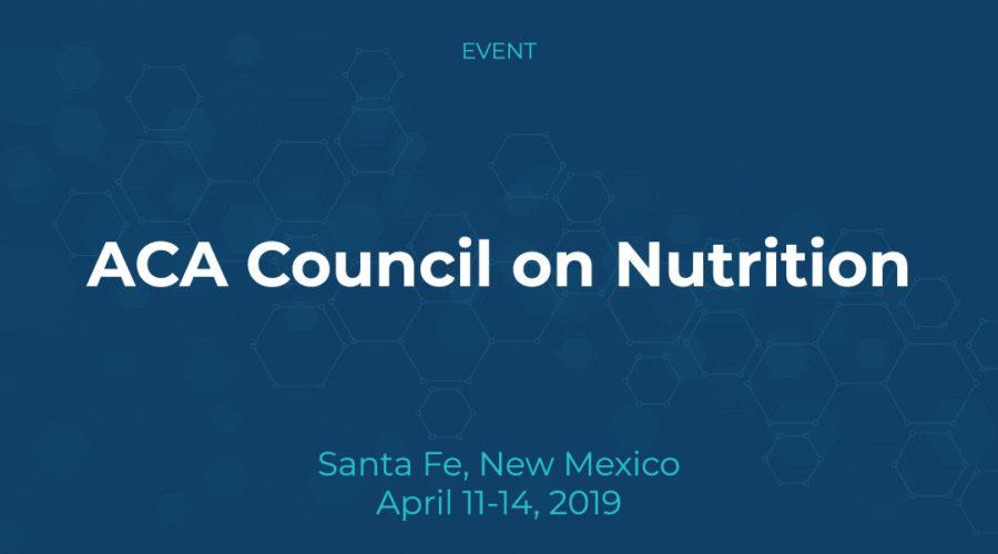 ACA Council on Nutrition